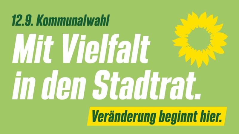 12.9. Kommunalwahl: Mit Vielfalt in den Stadtrat