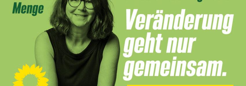 26.9. Susanne Menge in den Bundestag