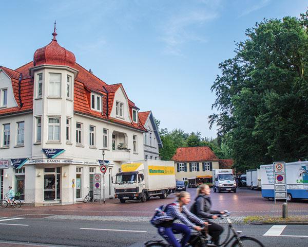 Marktplatz Eversten